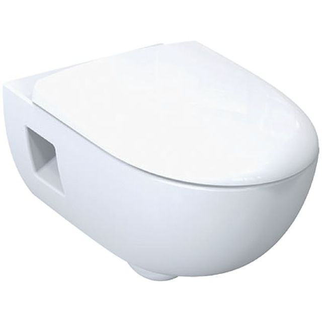 Smyle Rimfree Wall Hung Pan With Opening For Wall Mounting