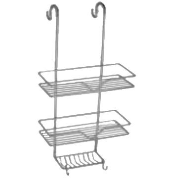 Ontap - Plumbing & Bathrooms - Bathware Shower Door Caddy Stainless ...